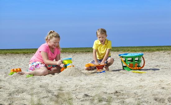 Maumee Bay Lodge and Conference Center: Sandy beaches