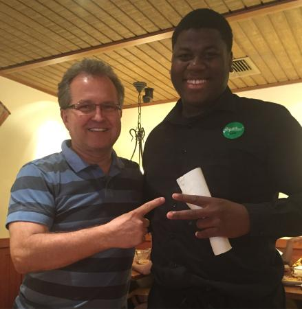 Dave Very Nice Server Picture Of Olive Garden Kissimmee Tripadvisor