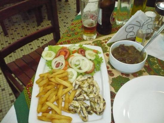 Residencial Hoyo Hoyo: Grilled scallops