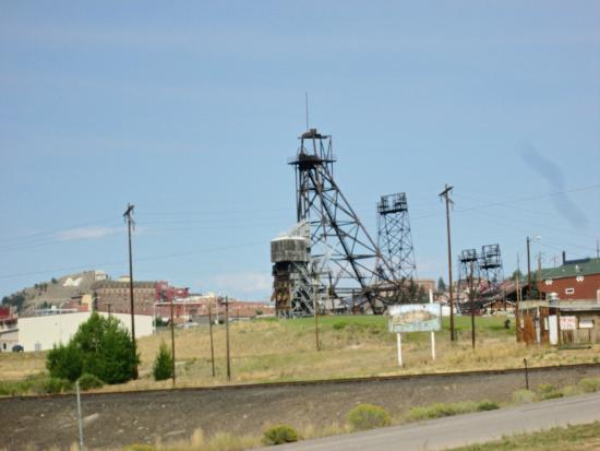 Butte Trolley Tour: HeadFrame from the Trolley