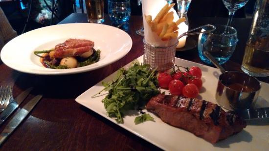 Ego Mediterranean Restaurant - Kenilworth: Looks ok, but look at the rocket lettuce