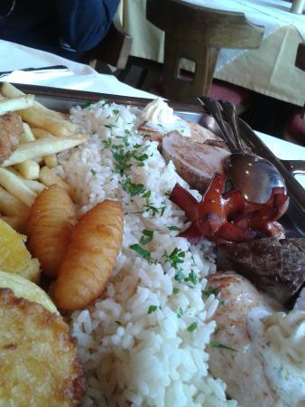 Oberassling, Austria: Particolare del piatto.