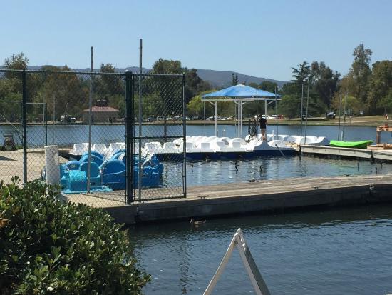 Leg powered fun around the lake picture of lake for Lake fishing near los angeles