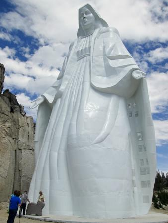 Our Lady of the Rockies: Our Lady Statue