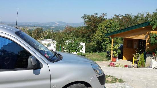 Camping site Ruza vetrova  Camp area in Serbia