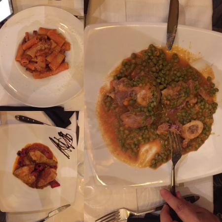 Tre piatti tipici romani fatti a doc foto di krugh for Piatti tipici romani