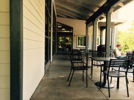 The North Carolina Arboretum: Cafe at education building