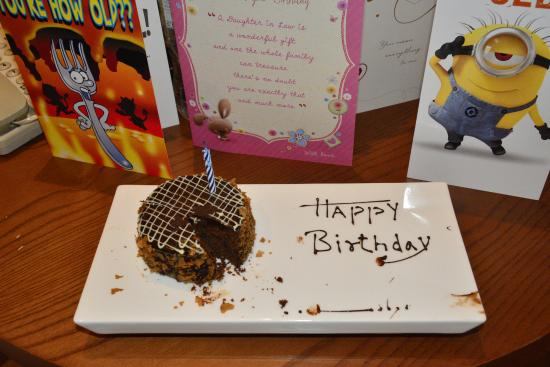 Fine Very Surprised When They Sang Happy Birthday Song For Me And Personalised Birthday Cards Petedlily Jamesorg