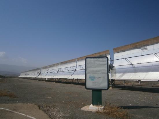 Plataforma Solar de Almeria: Cilindro Parabólico