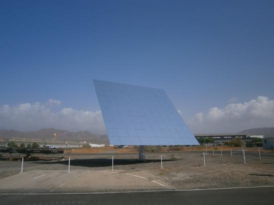 Plataforma Solar de Almeria: Heliostato