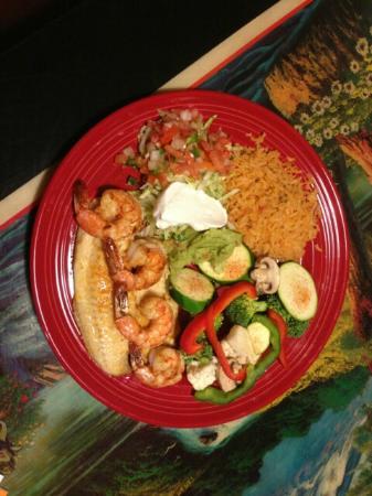 Weldon Spring, MO: shrimp & tilapia