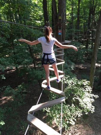 Go Ape Treetop Adventure Course: Great place even for anniversary dates!!!
