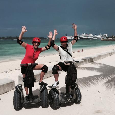 Nau Segway Beach And Waterfront Tour