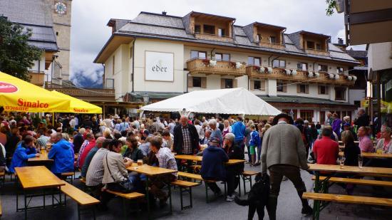 Hotel Eder during music festival