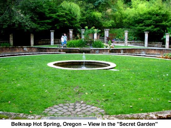 Picture of belknap hot springs lodge and gardens mckenzie bridge tripadvisor for Secret garden colorado springs