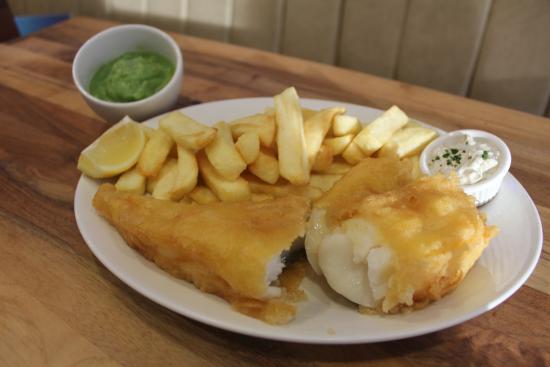 Ruislip, UK: Crisp White Chunks of Cod