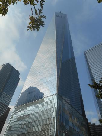 The new Freedom Tower that has replaced the Twin Towers t ...