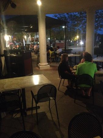 Luna De Noche Harbor: The patio is wonderful!