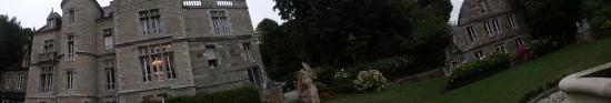 Planguenoual, Frankrike: à la tombée de la nuit .
