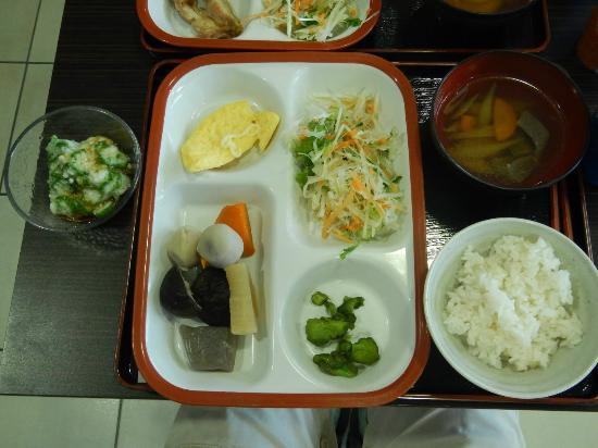 Super Hotel Morioka: 朝食