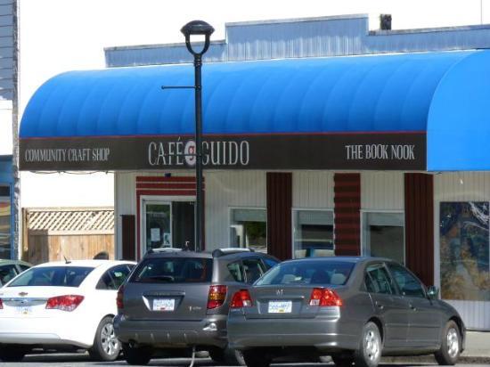 Cafe Guido: Outside of cafe