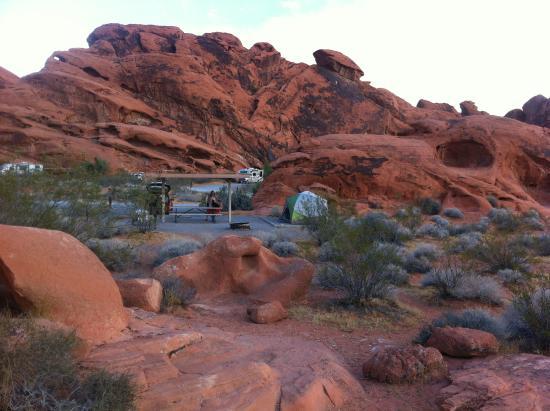 Arch Rock Campground Reviews Overton Nv Tripadvisor