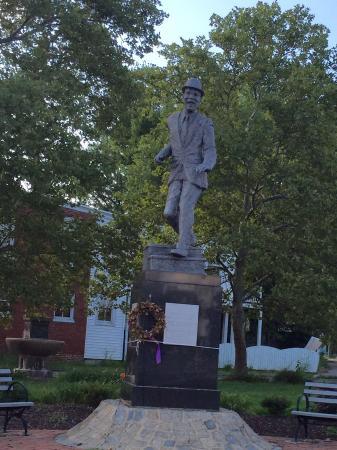 Bill Bojangles Robinson Monument