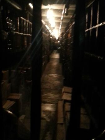 French Quarter History Tours: Antoine's wine cellar