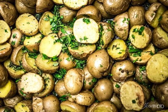 Idyllwild, CA: Roasted Potatoes