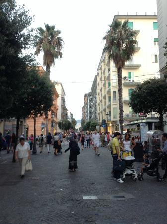 Salerno, Italia: サレルノ中心街
