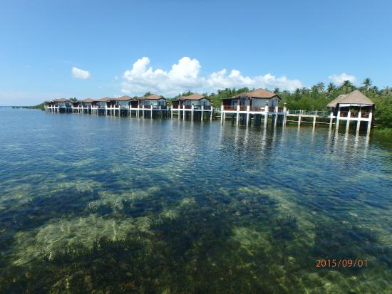 Charming Princesa Garden Island Resort U0026 Spa: 水上屋