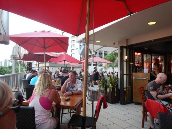 Tiki's Grill & Bar: Great Setting