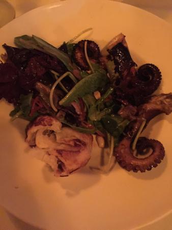 La Palapa Restaurant: Grilled Octopus Salad!!