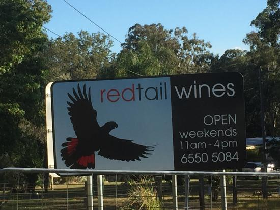 Taree, Australia: Red Tail Wines