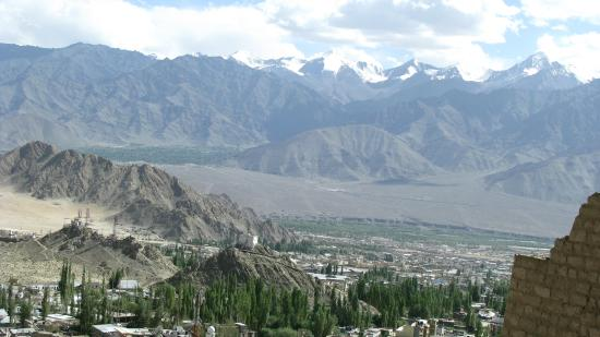 Leh Royal Palace: Scenic view from the top of the palace