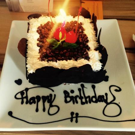 Surprise Birthday Cake Picture of TS Suites Leisure Seminyak Bali