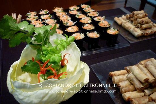 Coriandre et Citronnelle