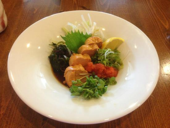 Hanako Japanese Restaurant: Monkfish liver - very good !