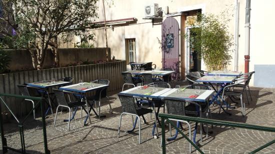 La Terrasse Au Printemps Picture Of L Auberg In