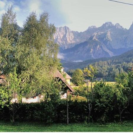 Apartments Trata : View of Triglav from window