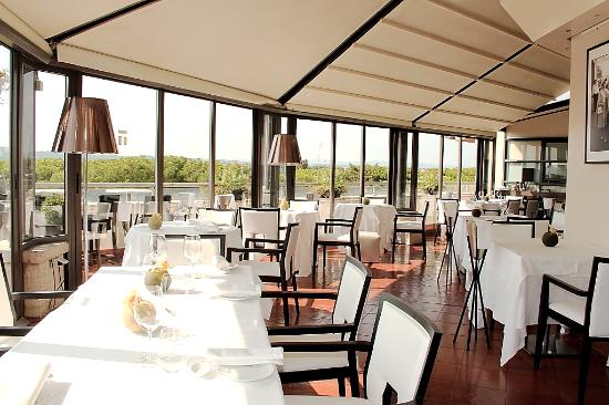Sofitel Rome Villa Borghese: ресторан на крыше