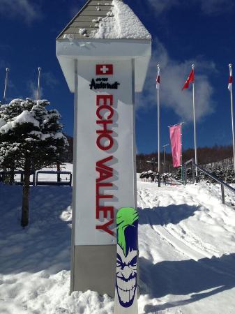 Echo Valley Ski Area : 雪質最高