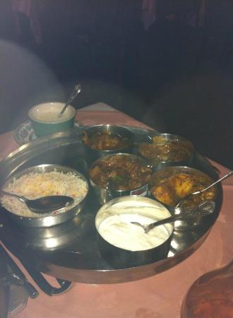 A Passage to India: meat thali