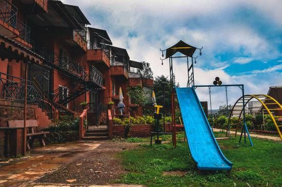Panchgani Health Resort : View from the Second Level