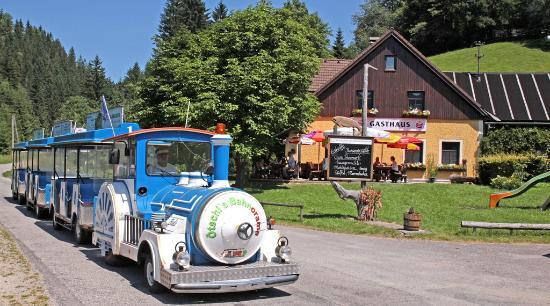 Puchenstuben, Østrig: Trefflingtalerhaus mit Ötschi