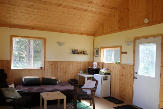 Fort Providence, Canada: inside cabin #3