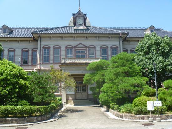 Okayama Prefecture, Tsuyama Senior High School, Building