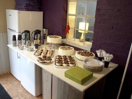 Lolland, เดนมาร์ก: We offer coffee and cake arangements