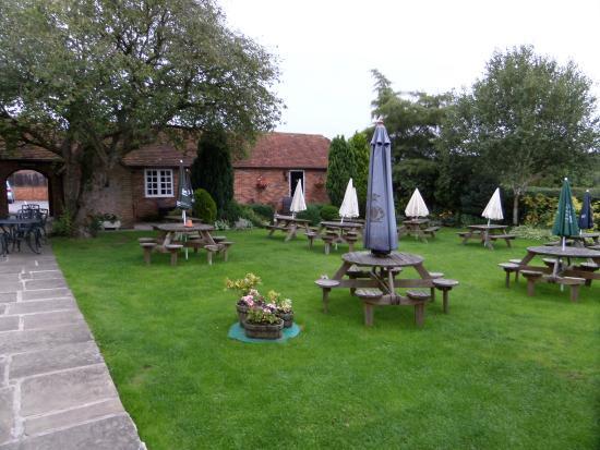 Hamstead Marshall, UK: Garten
