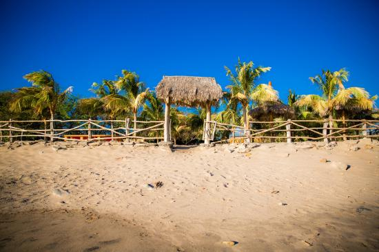 Tola, Nicaragua: Entrance from the beach